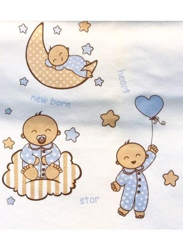 Happy Moon Battaniye Beyaz